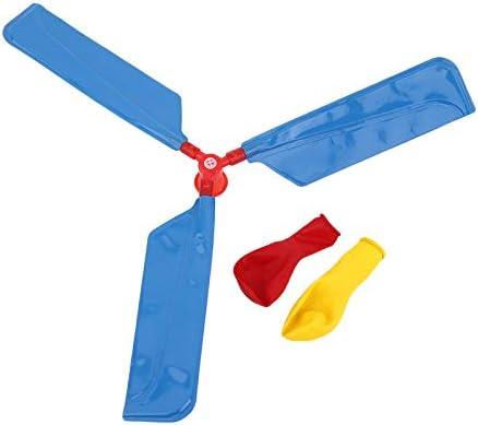 BianchiPatricia Balloon Helicopter Environmental Creative Toys Balloon Aircraft For Kids