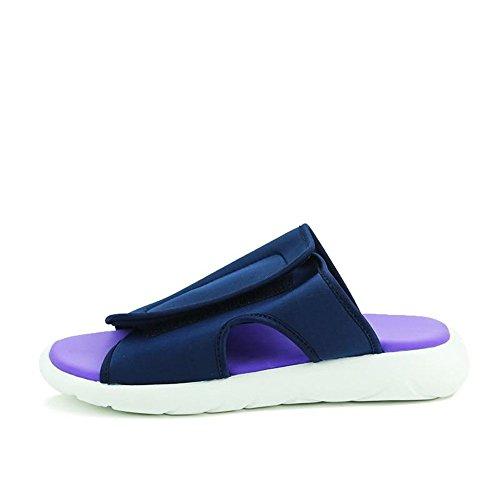 da da Color tacco da e piatto EU shoes 2018 39 moda bianco Dimensione alla Uomo Sandali uomo con Nero Xujw skater uomo Scarpe Blu da slip HqYwtw