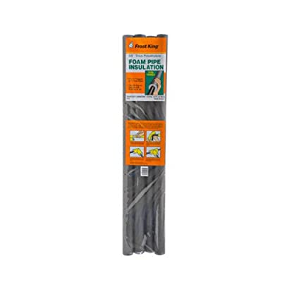 Thermwell Products P10 Foam Insulation, 3-Feet, 4-Pack