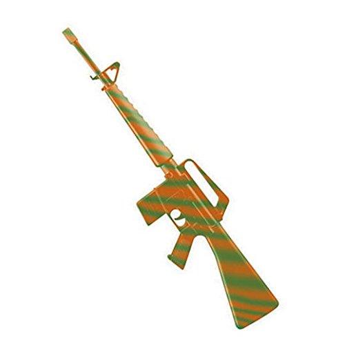 (Costume Beautiful Green And Orange M16 Rifle)