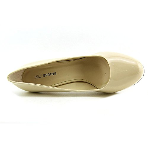 Call It Spring Willodean Womens Size 8 Nude Platforms Heels Shoes