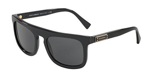 Dolce & Gabbana Men's Acetate Man Sunglass Square, BLACK 53 mm