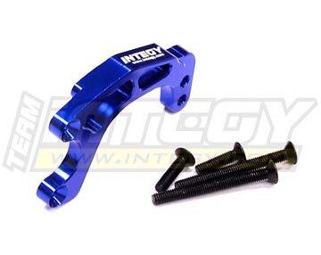 Integy T6614BLUE Alloy Gear Box Brace for HPI Nitro Firestorm Firestorm 10T
