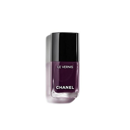 Chanel Le Vernis Longwear Nail Colour 628 Prune Dramatique for Women, 0.4 Ounce
