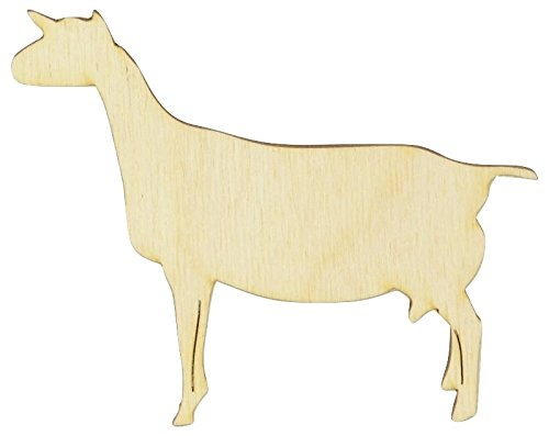Woodcrafter Wooden Dairy Goat Cutout 4