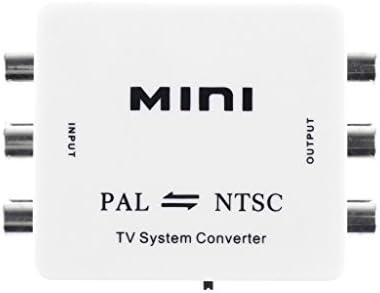 PAL/NTSC/SECAM → PAL/NTSC ミニ 双方向 テレビ システム コンバータ スイッチャ 互換性