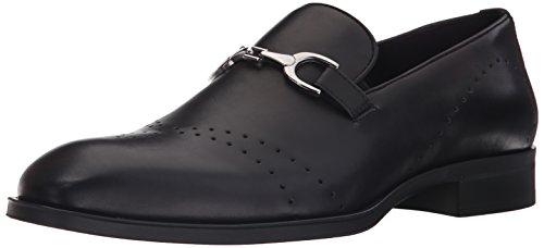 Donald J Pliner Men's Silvanno 61 Slip-on Loafer, Black, 9 M US (Us Made Shoes)