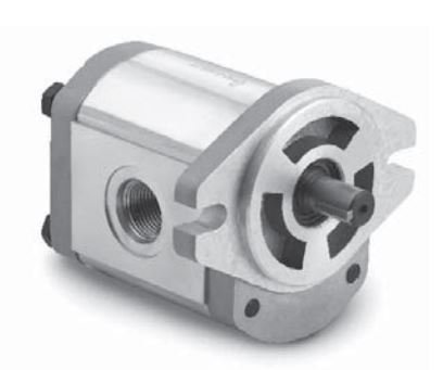 Chief Gear Pump: 5/8'' Shaft Diameter, 0.428 CID, 3.71 GPM @ 2000 RPM, 3600 Max RPM, 3626 PSI With SAE #12 Inlet and SAE #10 Output Ports, 2-Bolt A Mount, CW Rotation, 252428 by Chief