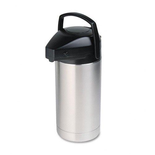 Hormel : Commercial Grade Jumbo Airpot, 3.5 Liter, Stainless Steel Finish -:- Sold as 2 Packs of - 1 - / - Total of 2 Each ()