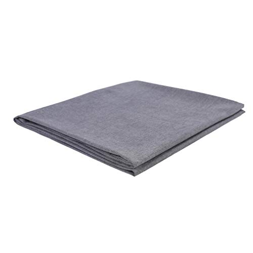 Kpblis Washed Cotton Removable Duvet Cover for Weighted Blan