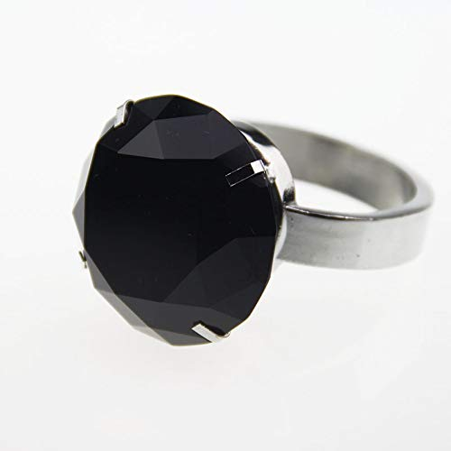 KathShop 40mm Crystal Glass Napkin Ring Diamond Table Serviette Holder Wedding Banquet Dinner Decoration Home Ornaments