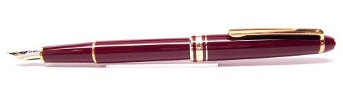 Montblanc Meisterstuck Classique Burgundy Bordeaux 144R Fountain Pen 13679