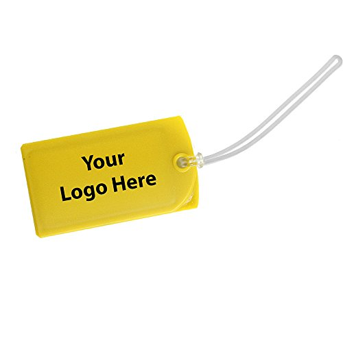 Explorer Luggage Tag (Explorer Luggage Tag - 200 Quantity - $1.45 Each - PROMOTIONAL PRODUCT / BULK / BRANDED with YOUR LOGO / CUSTOMIZED)
