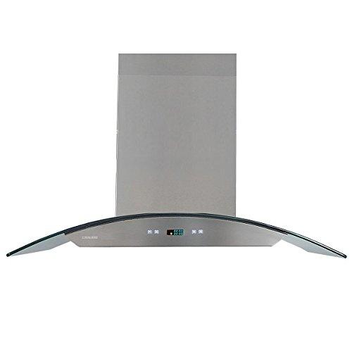 glass canopy range hood - 8