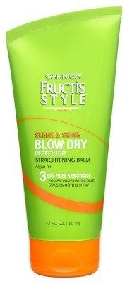 Garnier Fructis Sleek & Shine Blow Dry Straight Balm 5.1oz (2 Pack)