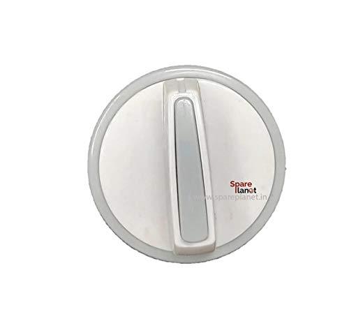 spareplanet™Washing Machine knob Compatible with Haier Semi Automatic Washing Machine(Grey) (Set of 4 Pieces)(Match & Buy)