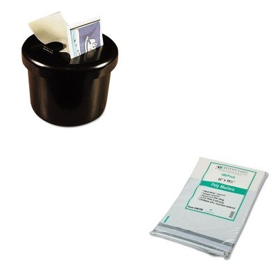 KITLEE40100QUA46199 - Value Kit - Quality Park Redi-Strip Poly Mailer (QUA46199) and Lee Ultimate Stamp Dispenser (LEE40100) by Quality Park