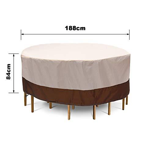Sonita3008 Patio Furniture Covers Waterproof Heavy Duty Waterproof Chair Dust Rain Cover for Garden Outdoor Patio Furniture Shape 1 (Furniture Bunnings Australia Outdoor)