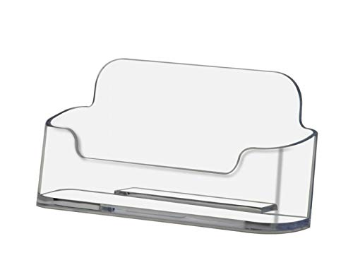 - Deflecto Business Card Holder Premium Acrylic (2, Clear)