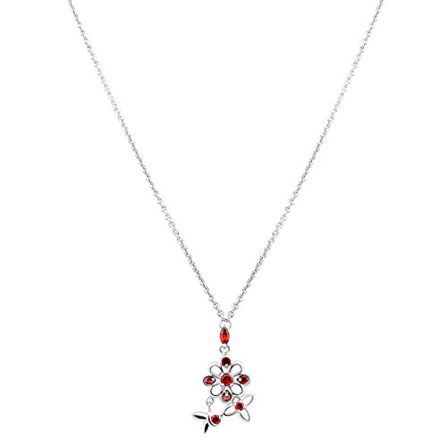 Orchid Jewelry 1.51 Ct Red Marquise Garnet and Citrine 925 Sterling Silver Pendant for Women: Nickel Free Beautiful and Stylish Birthday Gift for Mother and Wife