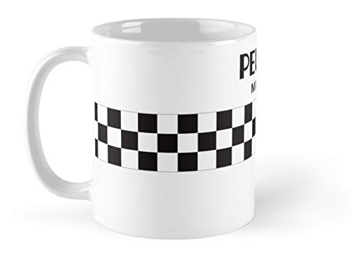 - DieMyKing - Classic Cycling Jerseys - Peugeot Mug Mug - 11oz Mug - Features wraparound prints - Made from Ceramic - Best gift for family friends