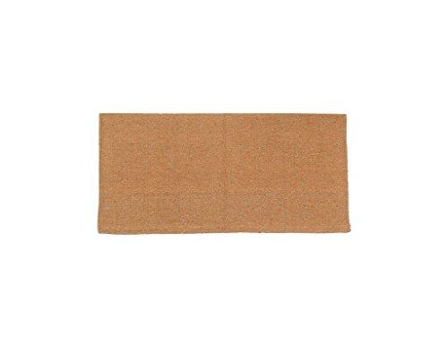 Tough-1 Solid Acrylic Saddle Blanket Oatmeal 32X32