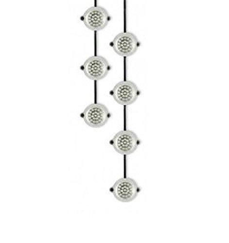 Defender E89332 LED Festoon String 22M 2.5W 110V, 25 W, 110 V, Black