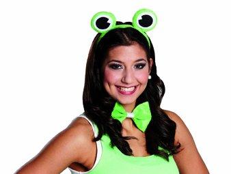 Zubehor Zum Frosch Kostum Fliege Haarreif Zu Karneval Fasching