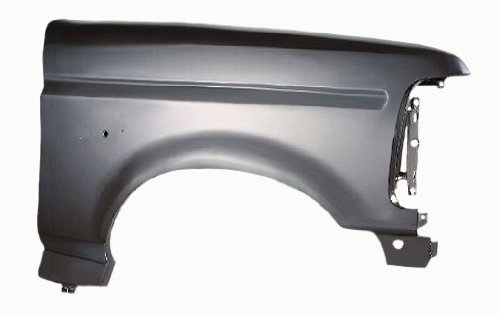 OE Replacement Ford Front Passenger Side Fender Assembly (Partslink Number FO1241136)