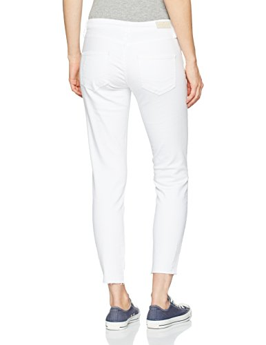 009 Cross Destroyed Jeans Skinny white Donna Bianco Gigi nwZnqTxA