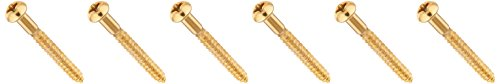 Fender Vintage-Style Stratocaster Bridge Mounting Screws for Electric Guitar by Fender