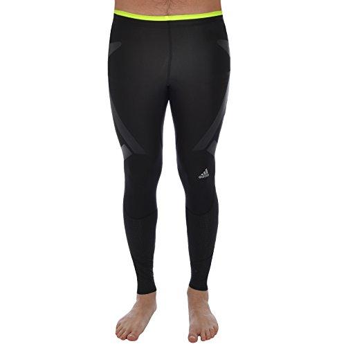 adidas Performance Men's Climacool Adistar Techfit Long Tights - Black - Medium - Adidas Nylon Tights