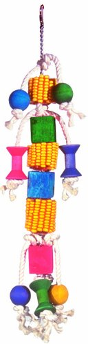 Super Bird Creations 18 by 4-Inch Corn Kabob Bird Toy, ()