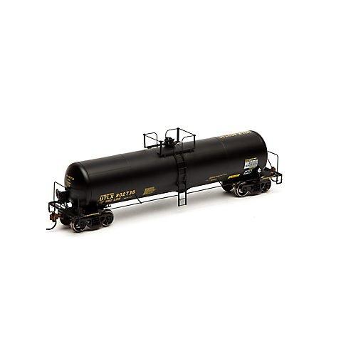 Athearn ath74447Ho RTR RTC 20 900-gallonタンク、UTLX /ブラック# 802736