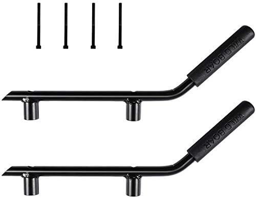 Pair Black Jeep Wrangler JK Grab Bar Front Grab Handle for 2007-2018 Jeep JK Wrangler /& Unlimited