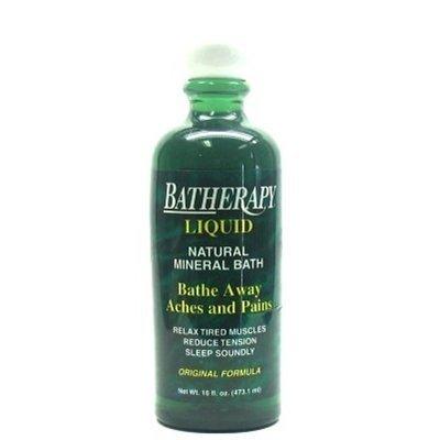 Queen Helene Batherapy Liquid - Original - 16 oz - Pack of 3 Batherapy Liquid Natural Mineral Bath