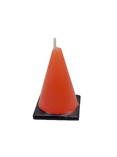 Construction Cone Molded Candles (6 count), Health Care Stuffs