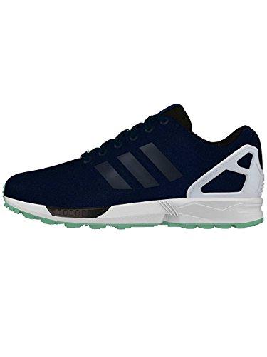 Basses Dark Blue Bleu adidas Mixte Core Blue ZX Dark Adulte White Flux Sneakers nx11tqAaCz