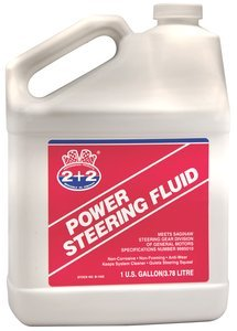 1gal Jug Amber Berkebile 2+2Â Power Steering Fluid, (Case of 4)