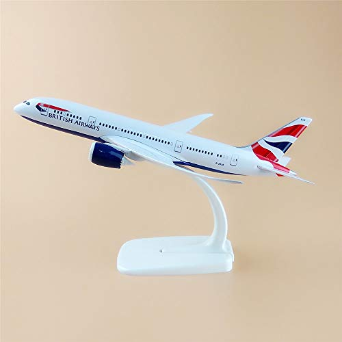 ZAMTAC 20cm Metal Plane Model Air British Airways Boeing for sale  Delivered anywhere in USA
