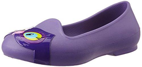 crocs Eve Animal Flat (Toddler/Little Kid), Blue Violet, 8 M US Toddler