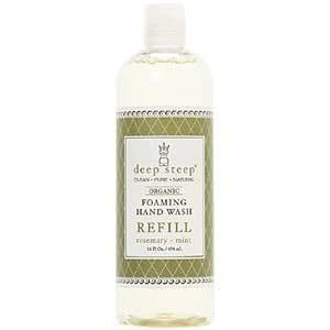 Deep Steep Foaming Hand Wash Refill Rosemarry 16 Oz