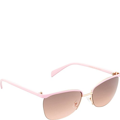 union-bay-womens-u535-rgdpk-cateye-sunglasses-rose-gold-pink-60-mm