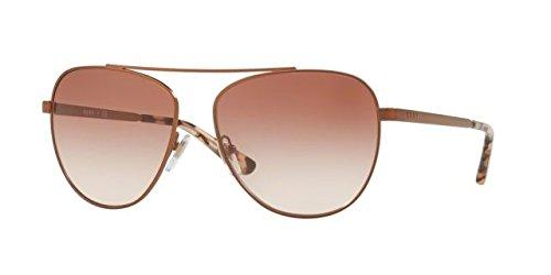 DKNY Women's Metal Woman Aviator Sunglasses, Rose Gold, 58 mm (Dkny Sunglasses Aviator)