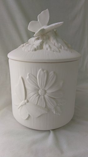 Cookie Jar Ceramic Bisque - 2