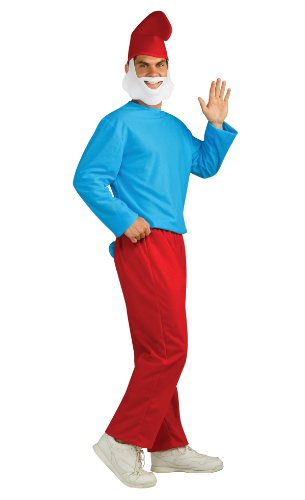 Rubie's Costume The Smurfs 2 Adult Papa Smurf, Red/Blue, X-Large Costume