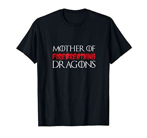 Fire Breathing Dragon T-shirt (Mother of Fire Breathing Dragons T-Shirt Halloween)
