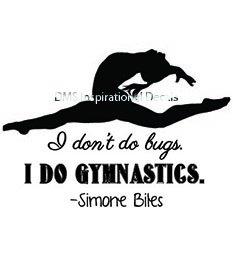 Simone Biles Gymnastics Quote