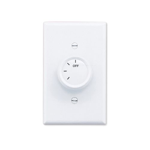 Emerson SW93 Switch for Ceiling Fan Control, White by Emerson