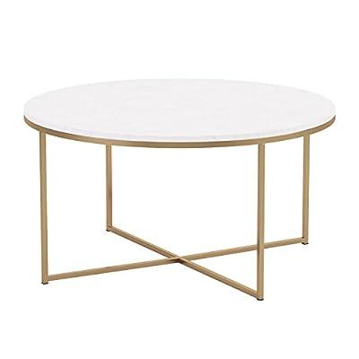 WE Furniture Wood Coffee Table